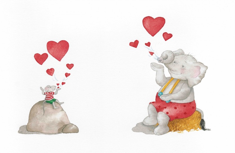 Tuffi und Fips schicken Liebe und Mut in die Welt