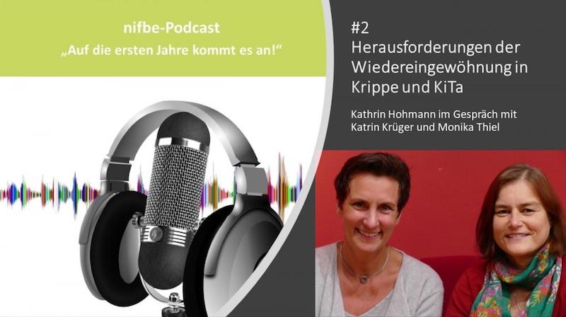 nifbe Podcast Wiedereingewöhnung in Krippe und Kita