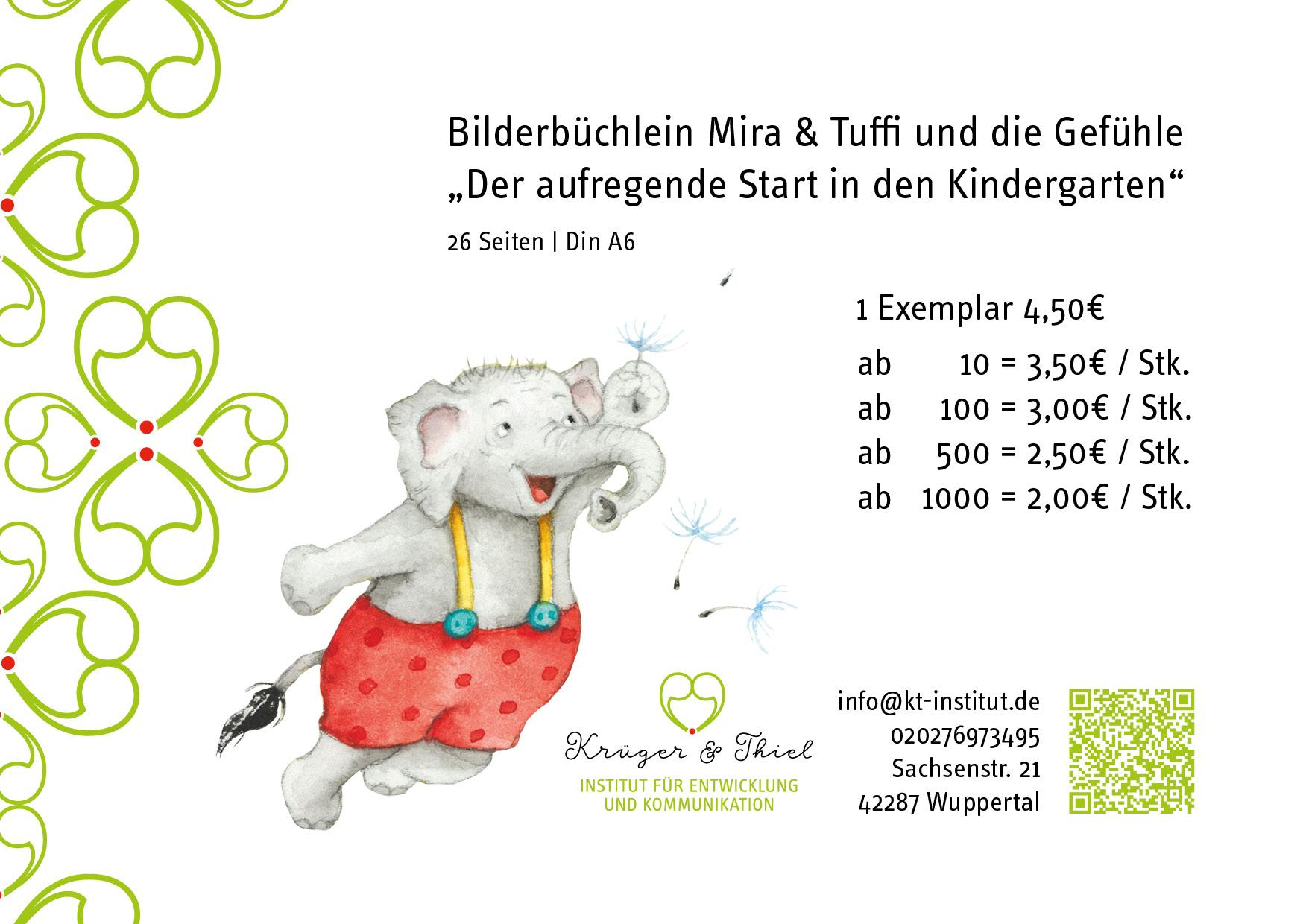 Staffelpreise Mira und Tuffi