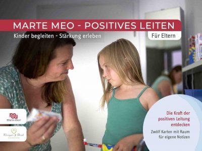 """Marte Meo Elternkarten Titelbild """"Die Kraft der positiven Leitung"""